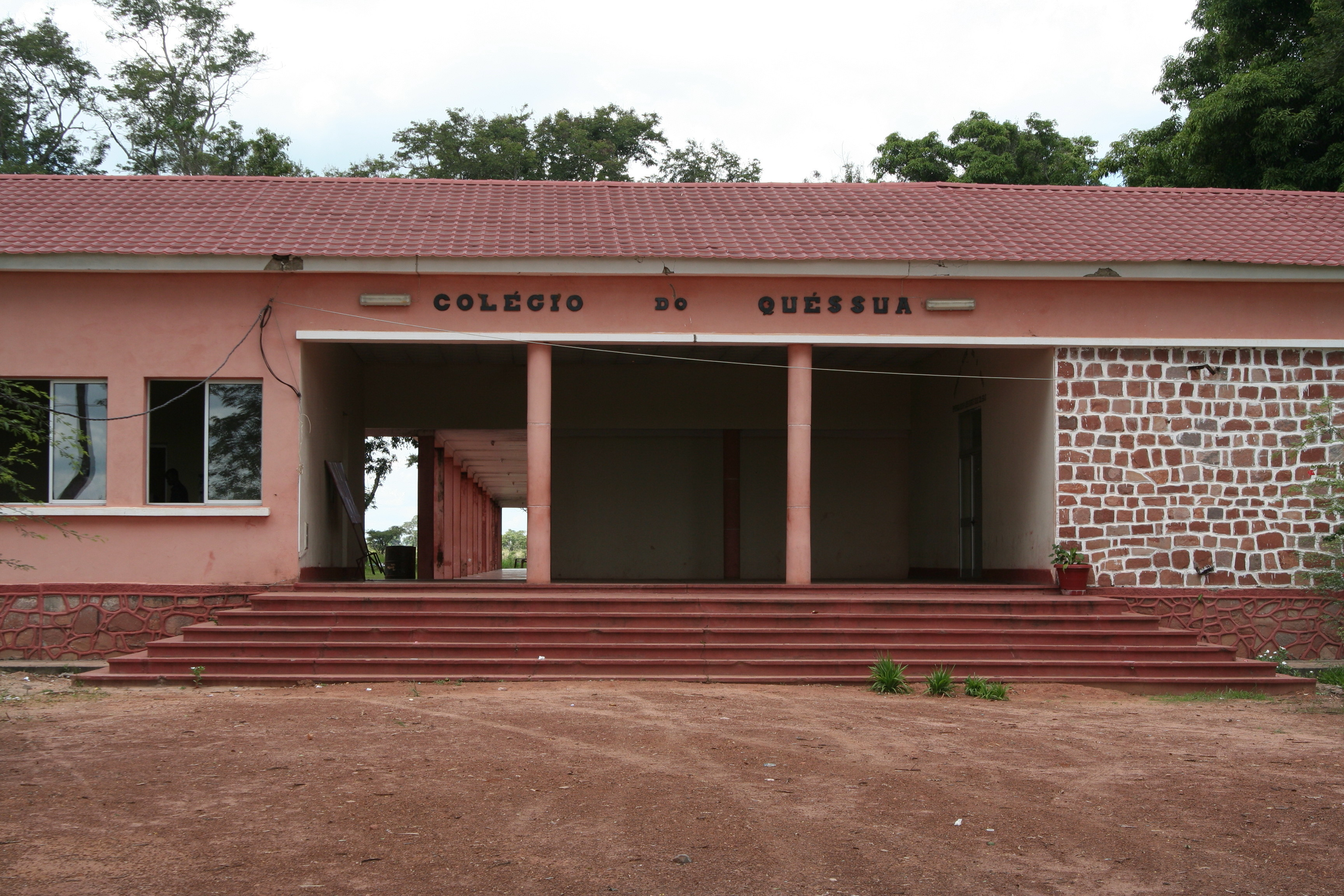 Quessua High School rebuilt