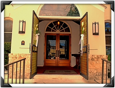 Open doors of Key West UMC