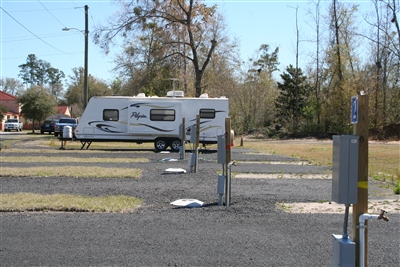 RV sites at PET facility in Penney Farms