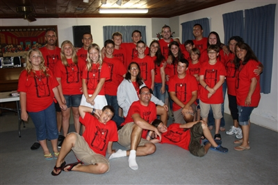 Mission team composed of teens from St. Stephen UMC, Arlington, Texas, and