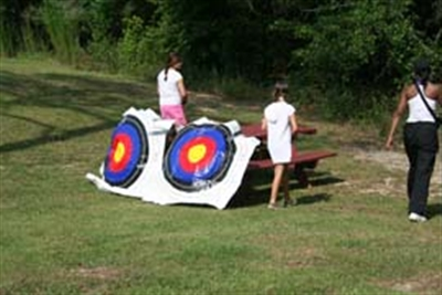 Archery at Centenary Camp
