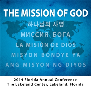 The Mission of God logo in multiple languages