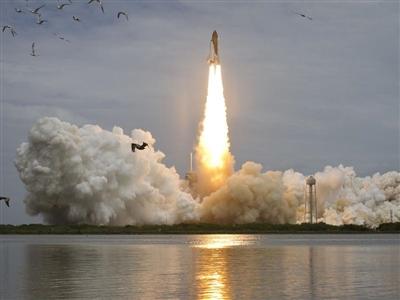 Atlantis final flight lifts off