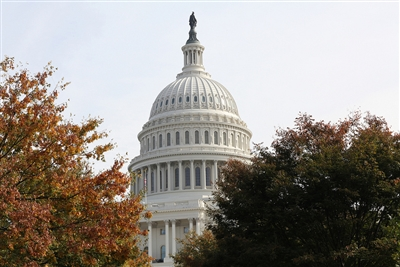 Photo of U.S. Capitol by Kathleen Barry of UMNS
