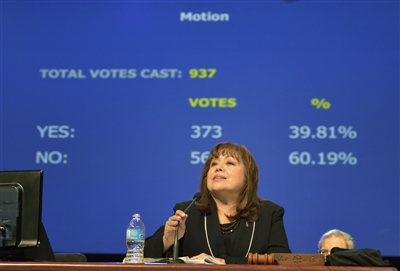 Guaranteed apportionment voting tally at General Conference 2012