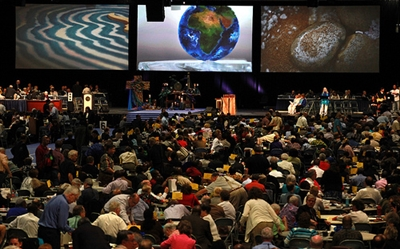 Delegates gather for closing session of 2012 General Conference