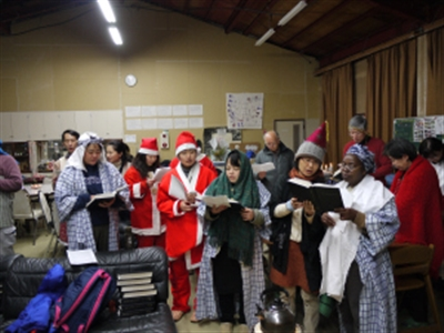Christmas pageant at Asian Rural Institute 2011