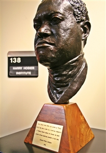 Bust of Harry Hosier at Asbury Seminary