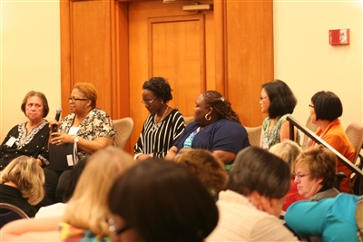 Panel discussion including Florida's Rev. Verona Matthews