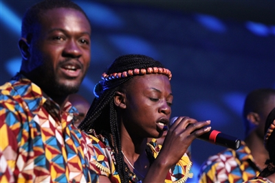 Africa University choir singers