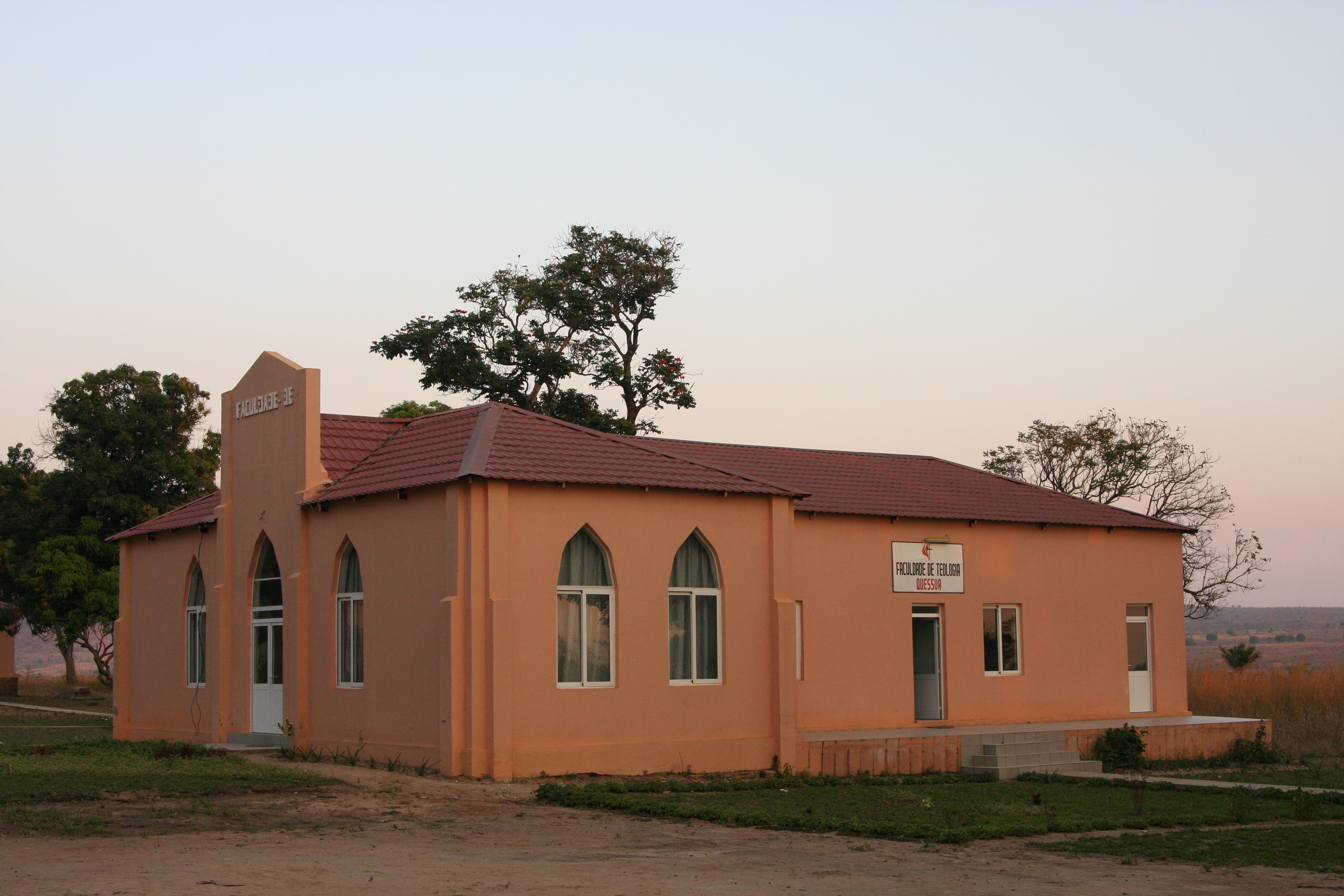 Quessua School of Theology rebuilt