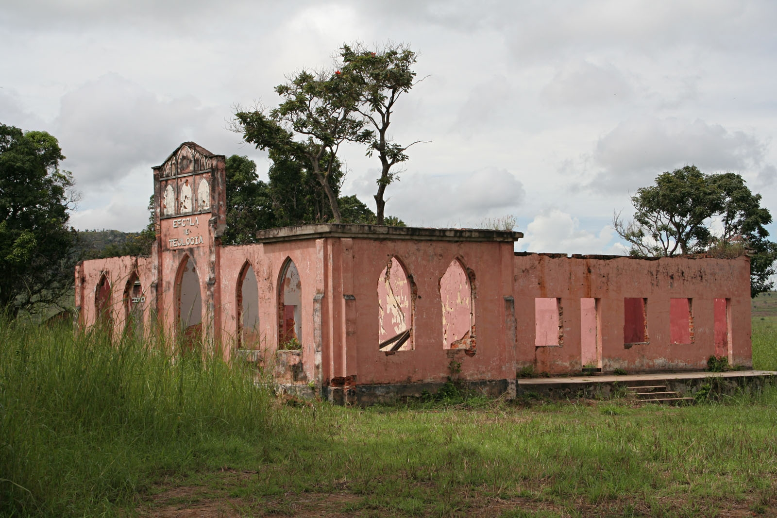 Quessua School of Theology gutted