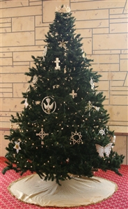 Chrismon tree at First UMC, Lakeland