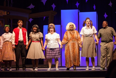 """Hairspray"" cast members from St. Luke's UMC"
