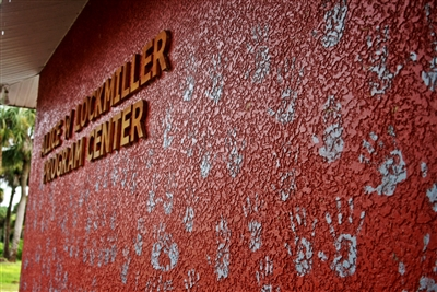 Handprints on Lockmiller Worship Center at Riverside Retreat