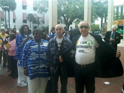 Florida Advocacy Days participants 2012