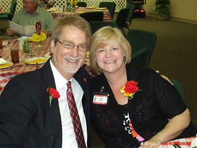 Bishop Ken and Pam Carter at Handicapable Ministry, St. Paul UMC, Largo