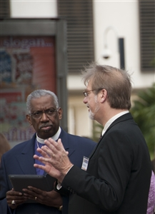 Bishops Carter and Richardson at Florida Advocacy Days news conference