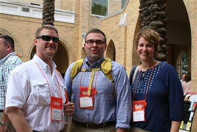 L-R: Revs. Michael Turner, SC; Russell Pierce, NC; and Allison Dickerson, Miss. at LCI 2013