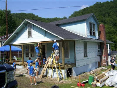 St. James UMC mission trip to West Virginia