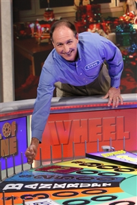 Rev. Steve Price spins Wheel of Fortune