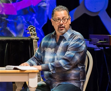 Jorge Acevedo of Grace Church, Cape Coral, at Real Ideas 2013