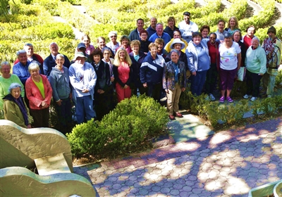 Group of past participants in the Five-Day spiritual formation academy at LEC