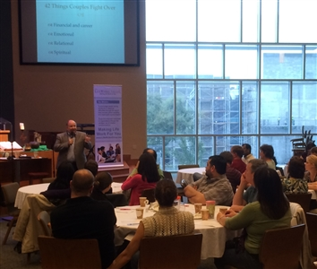 Couples College 101 session at First UMC, Orlando