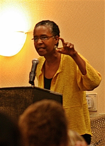 Rev. Dr. Traci West delivers UM Clergywomen keynote address