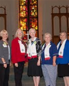 Group of Florida deaconesses
