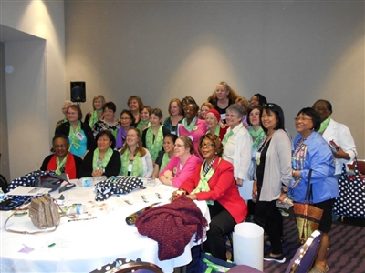 Deaconesses consecretated at UMW Assembly 2014