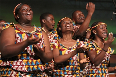 Singers from Africa University choir